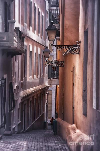 The Alleyways Of San Juan Poster