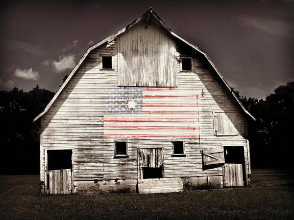 The American Farm Poster