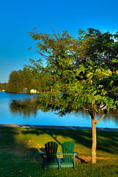 The Best Spot On Old Forge Pond Poster