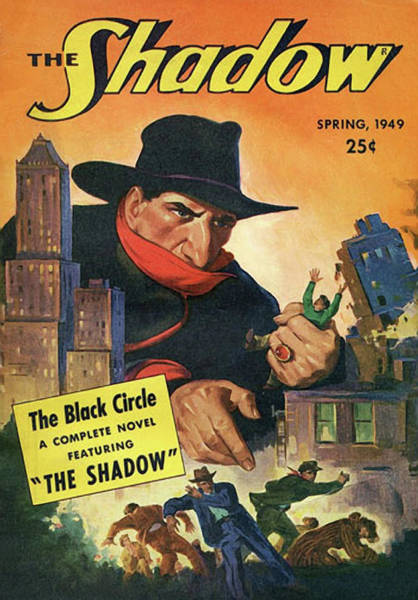 The Shadow The Black Circle Poster