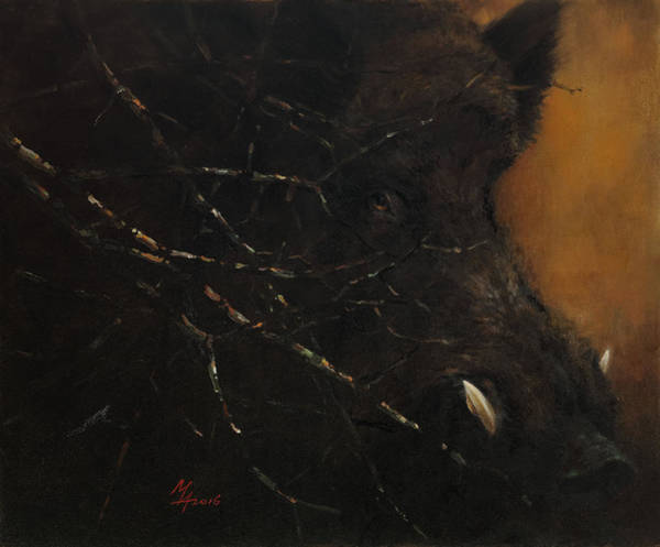 The Black Wildboar Poster