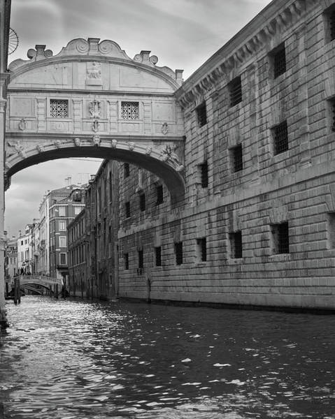 The Bridge Of Sighs, Venice, Italy Poster