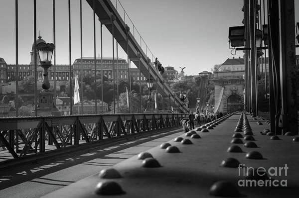 The Chain Bridge, Danube Budapest Poster