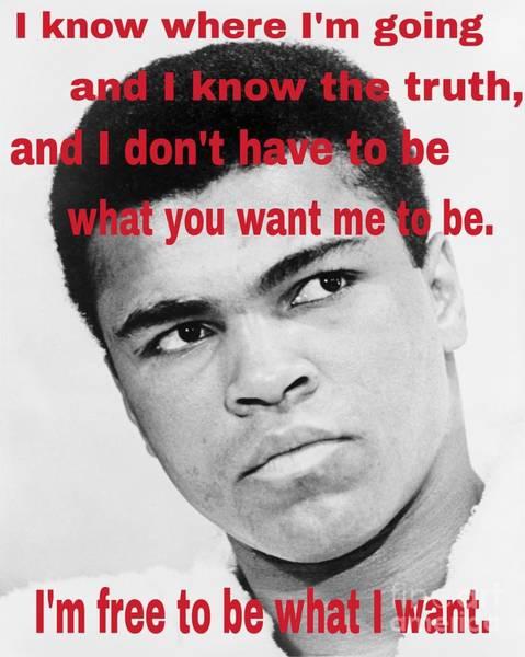 The Champ Muhammad Ali  Poster