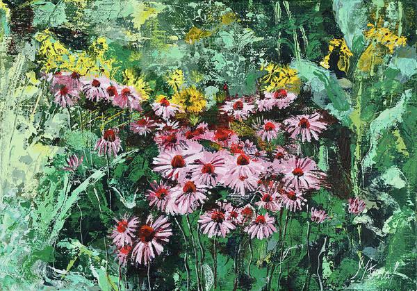 Coneflowers  Garden Poster