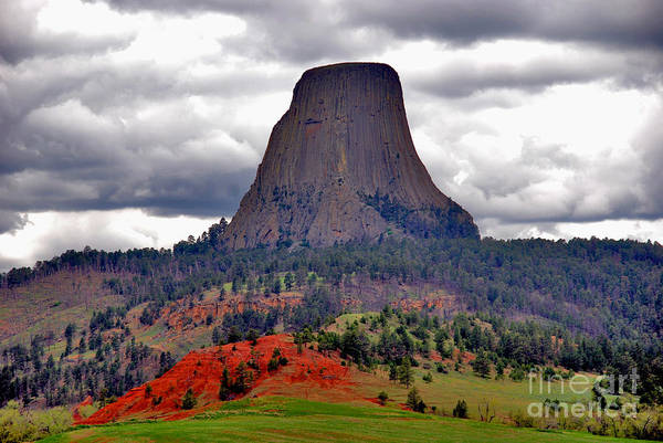 The Devils Tower Wy Poster