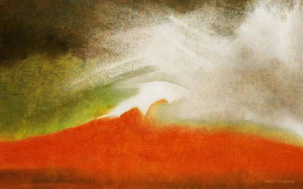 The Fire Mountain - Cotapaxi Poster