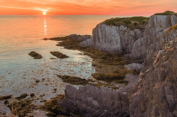 Poster featuring the photograph Nova Scotian Sunset by Garvin Hunter