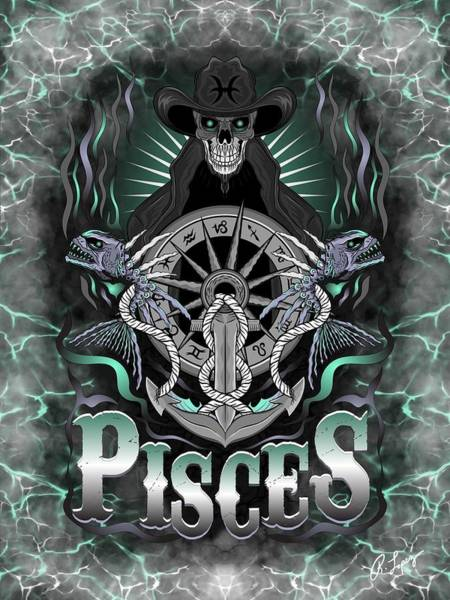 The Fish Pisces Spirit Poster