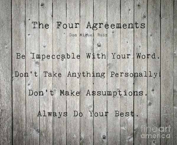 The Four Agreements 12 Poster