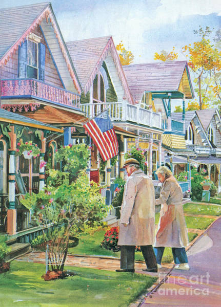 The Gingerbread Cottages Poster