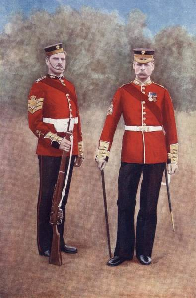 The Grenadier Guards In Uniform Of The Poster