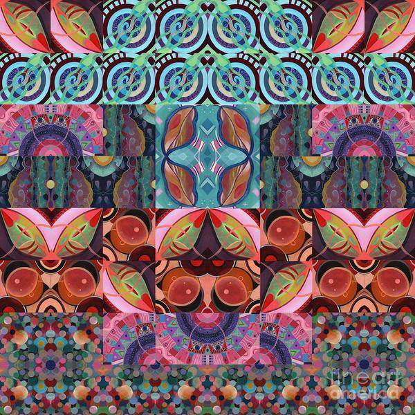 The Joy Of Design Mandala Series Puzzle 7 Arrangement 3 Poster