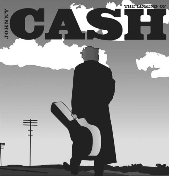 The Legend Of Johnny Cash Poster