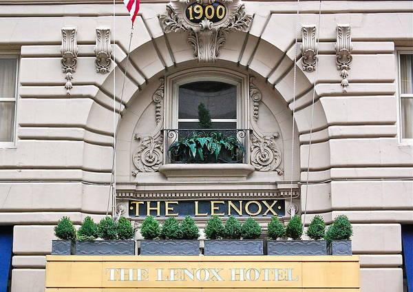 The Lenox Hotel - Boston Ma Poster