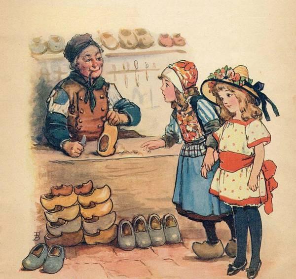 The Little Wooden Shoe Maker Poster
