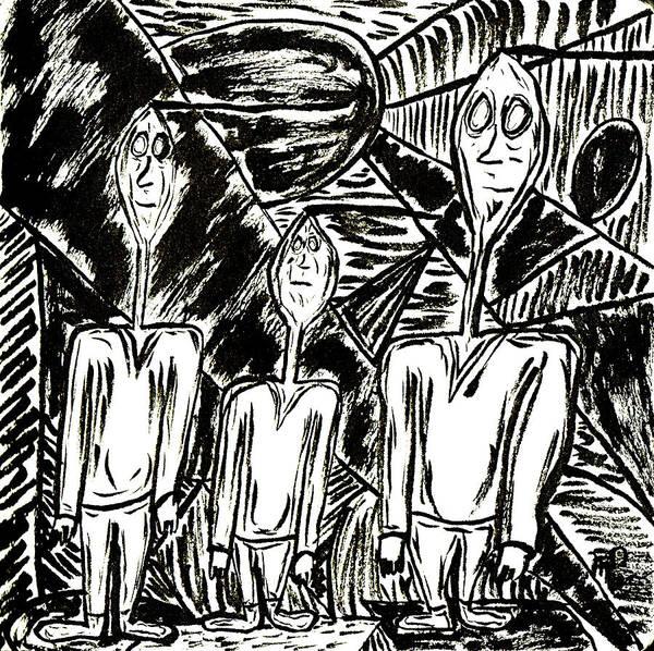 The Nod Trio Circa 1967 Poster