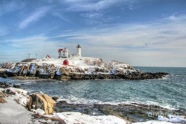 The Nubble Light Poster