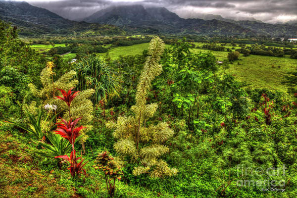 Majestic Kauai Overlook Kauai Island Hawaii Collection Art Poster