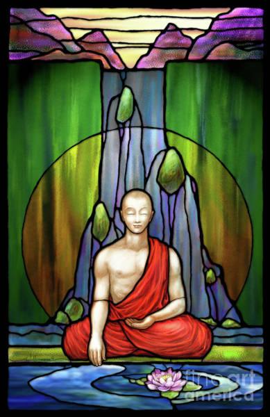 The Praying Monk Poster