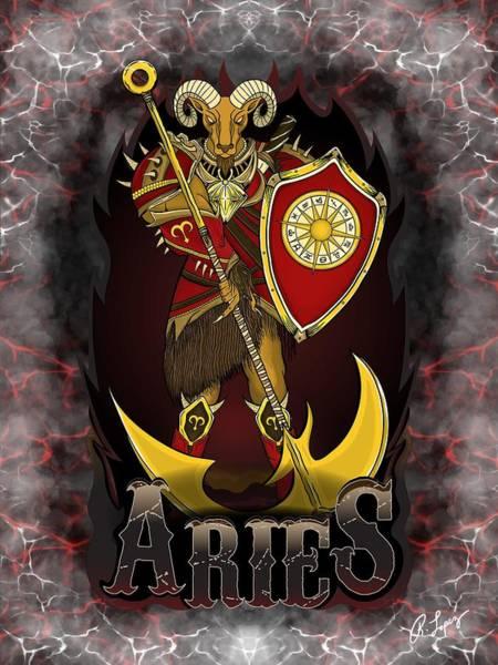 The Ram Aries Spirit Poster