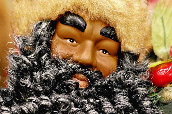 The Real Black Santa Poster