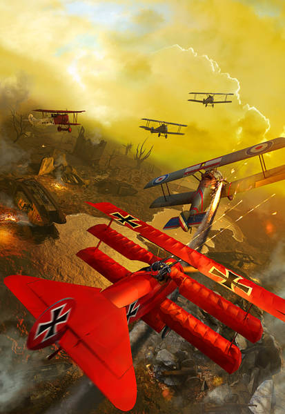The Red Baron-v2 Poster