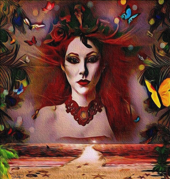 The Red Lady Shore Poster