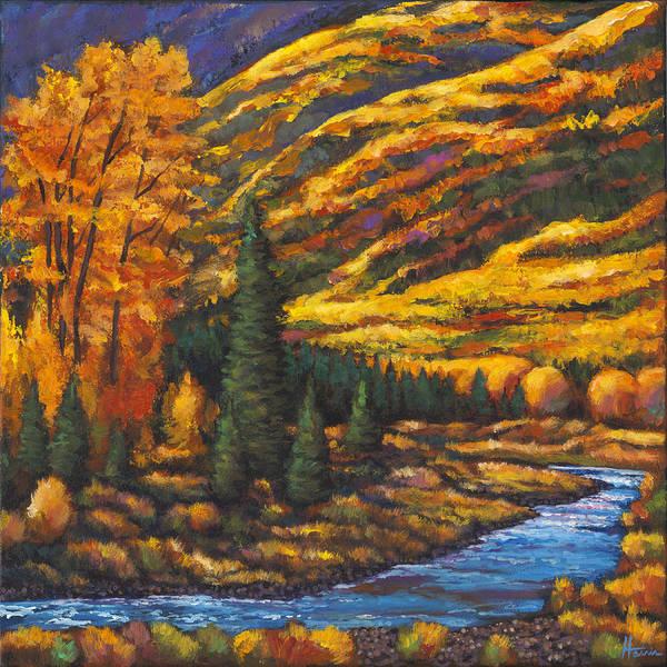 The River Runs Poster