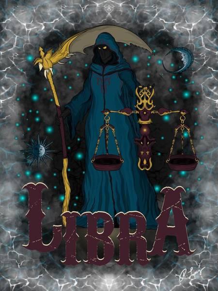 The Scale Libra Spirit Poster