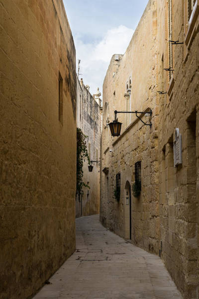 The Silent City - Mdina The Ancient Capital Of Malta Poster