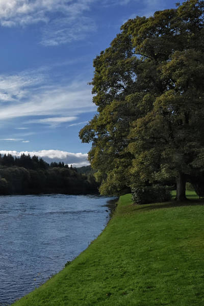 The Silvery Tay By Dunkeld Poster
