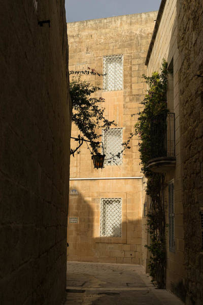 The Sunny Side Of The Street - Mdina The Ancient Capital Of Malta Poster