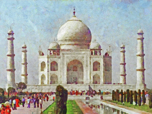 The Taj Mahal Poster