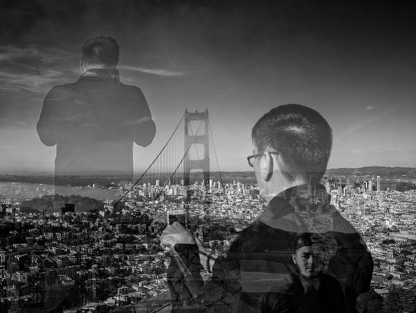 The Tourists - Golden Gate Bridge Poster