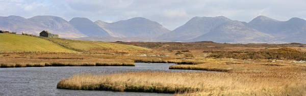 The Twelve Bens Mountains Connemara Ireland Poster