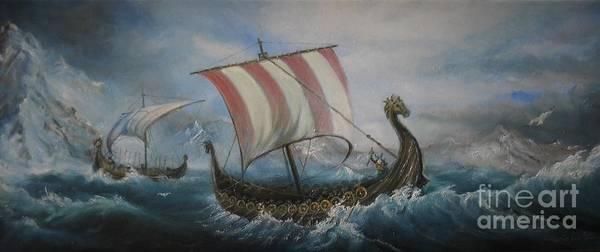 The Vikings Poster