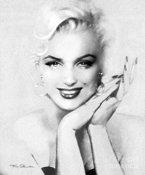 Theo's Marilyn 133 Bw Poster