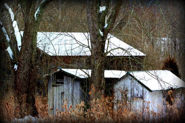 Three Barns Poster