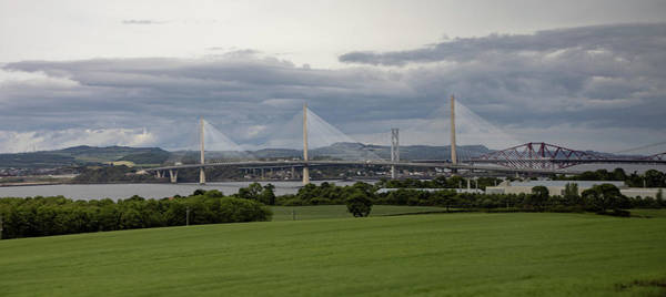 Three Bridges Over The Forth Poster