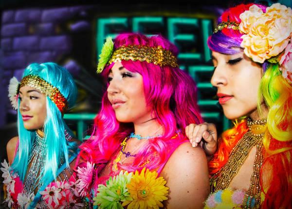 Three Flower Princesses  Poster