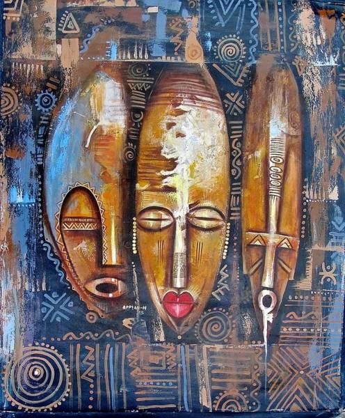 Three Masks Poster