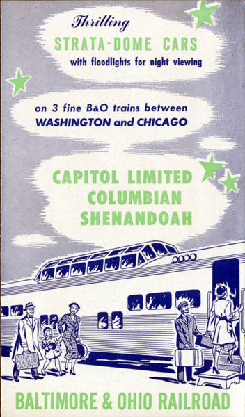 Thrilling Strata-dome Cars Poster