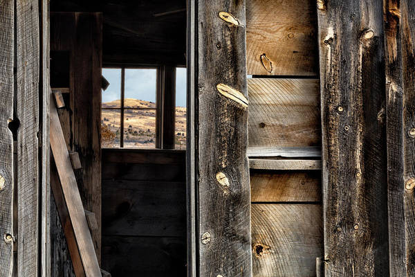 Through Cabin Window Poster