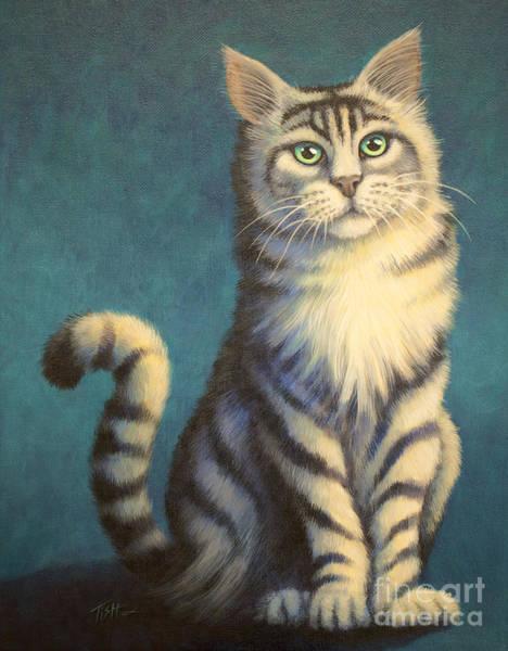 Tiger Kitty Poster