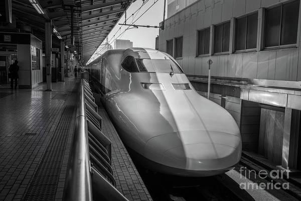 Tokyo To Kyoto Bullet Train, Japan 3 Poster