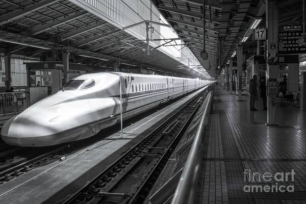 Tokyo To Kyoto, Bullet Train, Japan Poster