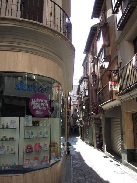 Toledo Window Shopping Poster