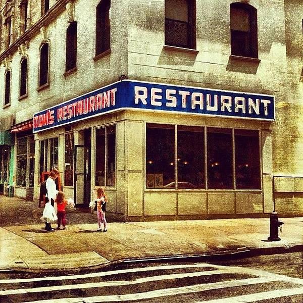 Tom's Restaurant. #seinfeld Poster