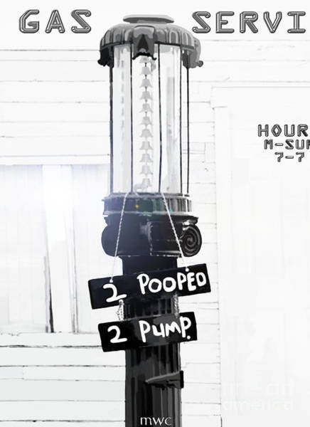 Too Pooped To Pump Poster